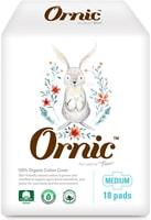 "SY ""Ornic Fino Medium"" Классические тонкие гигиенические прокладки, с крылышками, Стандарт, 25 см, 18 шт."