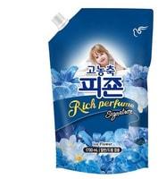 """Pigeon """"Rich Perfume Signature"""" Кондиционер для белья, парфюмированный супер-концентрат с ароматом """"Ледяной цветок"""", 1,6 л."""