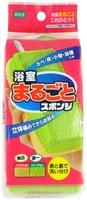 """Ohe Corporation """"Sponge For Bathroom"""" Губка для ванной 2-х сторонняя, жесткая/мягкая, 1 шт."""