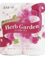 """Daio Paper Japan """"Herb Garden"""" Туалетная бумага трехслойная, аромат роза, 4*30 м."""