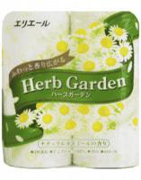 """Daio Paper Japan """"Herb Garden"""" Туалетная бумага трехслойная, аромат ромашка, 4*30 м."""