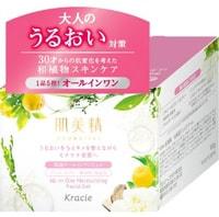 """Kracie """"Hadabisei"""" Крем-гель для лица увлажняющий c экстрактами японских растений, 100 гр."""