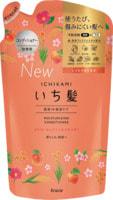 """Kracie """"Ichikami"""" Бальзам-ополаскиватель интенсивно увлажняющий для поврежденных волос с маслом абрикоса, сменная упаковка, 340 гр."""
