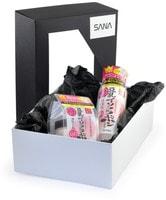 "Sana ""Soy Milk"" Подарочный набор ""Уход за кожей с изофлавонами сои и Q10"": Увлажняющий лосьон, 200 мл. + Увлажняющий крем, 50 г."