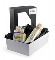 """Sana """"Soy Milk"""" Подарочный набор """"Омоложение и увлажнение с ретинолом"""": Увлажняющий и подтягивающий лосьон, 200 мл. + Увлажняющий и подтягивающий крем, 50 г."""
