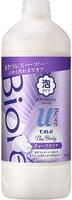 """KAO """"Biore U Foaming Body Wash Deep Clear"""" Жидкое мыло-пенка для тела """"Глубокое очищение"""", с освежающим ароматом трав, запасной блок, 450 мл."""