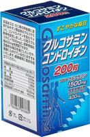 """Yuwa """"Глюкозамин и хондроитин"""" Биологически активная добавка к пище, 250 мг., 200 таблеток."""