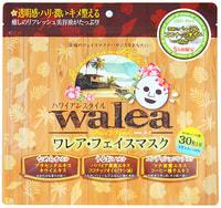 """SPC """"Walea Face Mask"""" Маски для лица """"Спокойствие"""" в гавайском стиле, 30 шт."""