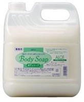 """Nihon """"Wins Body Soap Aloe"""" Крем-мыло для тела, с экстрактом алоэ и богатым ароматом, цитрус, 4000 мл."""