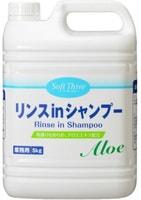 Mitsuei Шампунь-кондиционер с экстрактом алоэ, 5 кг.