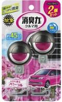 ST Освежитель воздуха для автомобильного кондиционера, с нежным ароматом цветов, 2 шт. х 3,2 мл.