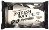 Life-do Влажные салфетки-полотенца для тела с гиалуроновой кислотой, увеличенного размера, с ароматом ментола, 300 х 200 мм, 20 шт.