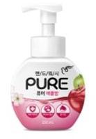 """Pigeon """"Pure Apple Balm"""" Мыло-пенка для рук с натуральными ингредиентами и антибактериальным эффектом, """"Яблоко"""", 250 мл."""