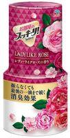 "Earth Biochemical ""Sukki-ri!"" Жидкий дезодорант-ароматизатор для комнаты с цветочным ароматом, ""Женственная роза"", 400 мл."
