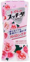 "Earth Biochemical ""Sukki-ri!"" Жидкий дезодорант-ароматизатор для туалета, с цветочным ароматом, ""Белые цветы"", 400 мл."