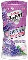 "Earth Biochemical ""Sukki-ri!"" Жидкий дезодорант-ароматизатор для туалета, с цветочным ароматом, ""Ароматная лаванда"", 400 мл."