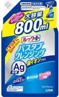 """Lion """"Look Plus"""" Чистящее средство для ванной комнаты быстрого действия, аромат трав и мяты + ионы серебра, сменная упаковка, 800 мл."""