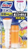 """Kobayashi """"Bluelet Stampy Orange"""" Дезодорирующий очиститель-цветок для туалетов, с ароматом апельсина, 28 гр."""
