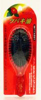"""Ikemoto """"Tsubaki Oil Combination Cushion Brush"""" Щетка для ухода и восстановления поврежденных волос, с маслом камелии японской, 1 шт."""