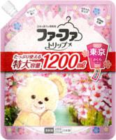 """NS FaFa """"Tokyo Sakura"""" Кондиционер концентрированный для белья, с ароматом цветущей сакуры, мягкая упаковка, 1200 мл."""