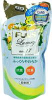 """Daiichi """"Funs"""" Кондиционер для белья с антибактериальным эффектом, с ароматом цитруса, сменная упаковка, 480 мл."""