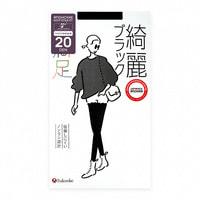 "Fukuske Corporation ""Manzoku"" Колготки женские 20 ден, черные, размер S-M (2-3)."