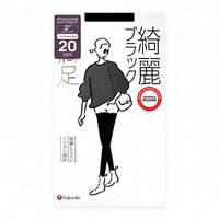 "Fukuske Corporation ""Manzoku"" Колготки женские 20 ден, черные, размер M-L (3-4)."