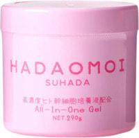 """Akari """"Hadaomoi Suhada"""" Увлажняющий и питательный гель для лица и тела, с концентратом стволовых клеток человека, 290 г."""