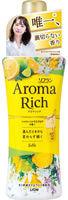 """Lion """"Aroma Rich Belle"""" Кондиционер для белья с ароматом апельсина, бергамота, жасмина и фрезии, бутылка с колпачком-дозатором, 520 мл."""