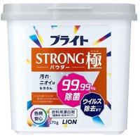 """Lion """"Bright Strong Kiwami Powder"""" Порошковый кислородный отбеливатель для стойких загрязнений, с антибактериальным и дезодорирующим эффектом, 570 г."""
