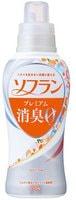 """Lion """"Soflan Premium Aroma Soap"""" Кондиционер для белья с ароматом душистого мыла, бутылка с колпачком-дозатором, 550 мл."""