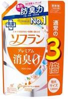 """Lion """"Soflan Premium Aroma Soap"""" Кондиционер для белья с ароматом душистого мыла, мягкая упаковка с колпачком, 1260 мл."""