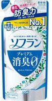 "Lion ""Soflan Premium White Herb Aroma"" Кондиционер для белья с ароматом цветущего луга, мягкая упаковка, 420 мл."