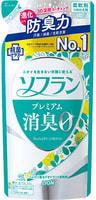 """Lion """"Soflan Premium Fresh Green Aroma"""" Кондиционер для белья с ароматом свежей зелени и фруктов, мягкая упаковка, 420 мл."""