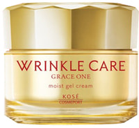 "Kose Cosmeport ""Grace One Wrinkle Care Moist Gel Cream"" Увлажняющий гелеобразный крем для лица, против морщин, 100 г."