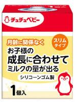 Chu Chu Baby Сменная силиконовая соска для бутылочки с узким горлышком, 1 шт.