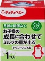 Chu Chu Baby Сменная силиконовая соска для бутылочки с узким горлышком, мягкая 1 шт.