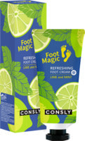"Consly ""Refreshing Foot Cream"" Освежающий крем для ног, 100 мл."