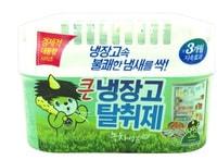 """Sandokkaebi """"Odor Fri"""" Ароматизатор-освежитель для холодильника, для холодильников с объемом до 600 л, зеленый чай, 420 гр."""
