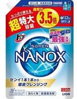 """Lion """"TOP Super Nanox"""" Гель для стирки, концентрат, мягкая упаковка с крышкой, 1230 гр."""