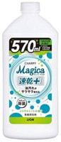 """Lion """"Charmy Magica+"""" Средство для мытья посуды, концентрированное, с ароматом цитруса и мяты, флакон с крышкой, 570 мл. + 30 мл."""