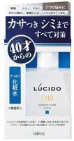 """Mandom """"Lucido Q10 Ageing Care Lotion"""" Лосьон комплексный от несовершенств зрелой кожи лица, для мужчин после 40 лет, без запаха, красителей и консервантов, 110 мл."""