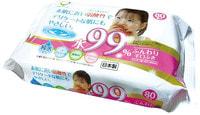 Life-do Детские влажные салфетки для лица и рук, 80 шт.