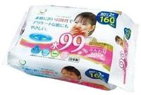 Life-do Детские влажные салфетки для лица и рук, 80 шт. х 2 уп.