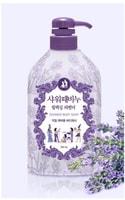 Mukunghwa Увлажняющее и отшелушивающее жидкое мыло для тела с растительными экстрактами, расслабляющий аромат лаванды, 700 мл.