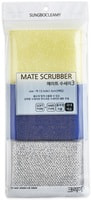 "SC ""Mate Scrubber"" Набор губок для мытья посуды, кухонной утвари и чистки овощей, 13 х 9 х 1,5 см, 3 шт."