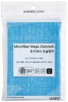 SC Мягкая тряпка из микрофибры с жаккардовым плетением, повышенная впитываемость, большая, 40 х 60 см.