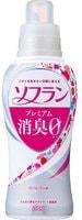"""Lion """"Soflan Premium Deodorizer Zero-О"""" Кондиционер для белья, с длительной 3D-защитой от неприятного запаха, натуральный аромат роз, 550 мл."""