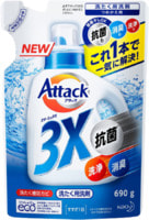 """KAO """"Attack Multi-Action"""" Концентрированный гель для стирки, сменный блок, 690 г."""