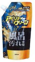 """Yuwa """"Ability Clean Premium for Bath Stains"""" Чистящая пена для ванны, с дезинфицирующим эффектом, мягкая упаковка, 500 мл."""